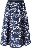 I'M Isola Marras floral print skirt - women - Polyester/Spandex/Elastane/Acetate/Viscose - 42