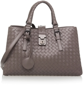 Bottega Veneta Small Roma Intrecciato Tote Bag