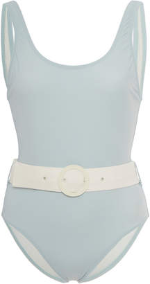 Solid & Striped Anne-Marie Belted Swimsuit