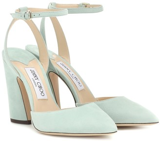 Jimmy Choo Micky 100 suede pumps