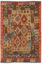 Arshs' Fine Rugs Kilim Arya Chas Flatweave Hand-Woven Wool Southwestern Rug
