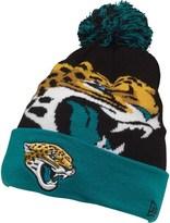 New Era NFL Jacksonville Jaguars Knitted Bobble Hat Black