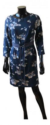 AILANTO Blue Silk Dresses