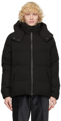 Descente Black Down Mizusawa Anchor Jacket