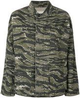 Current/Elliott camouflage jacket - women - Cotton/Linen/Flax - 0