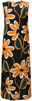 Aspesi sleeveless printed maxi dress