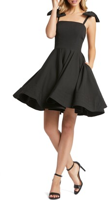 Mac Duggal Bow Fit & Flare Cocktail Dress