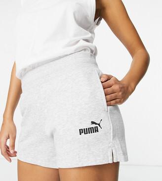 Puma Essentials Sweat Shorts in grey