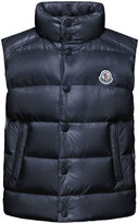 Moncler Tib Down Puffer Vest, Navy, Size 4-6