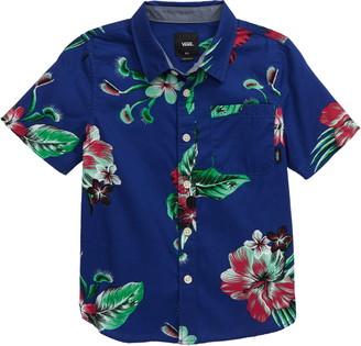 Vans Trap Floral Button-Up Shirt