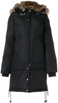 Parajumpers padded hooded coat - women - Feather Down/Acrylic/Polyamide/Polyester - S