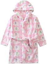 Aivtalk Kid's Hooded Bath Robe Sleepwear Homewear, 2-7 Years