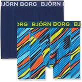 Bjorn Borg Men's 2P Bb Splashes Boxer Shorts