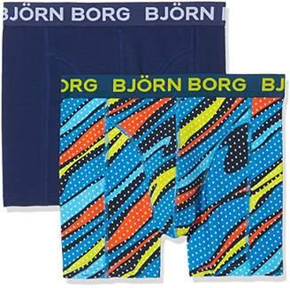 Bjorn Borg Men's 2P Shorts Bb Splashes Boxer,Large