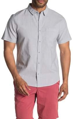 Public Opinion Woven Short Sleeve Regular Fit Shirt