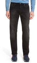 Mavi Jeans 'Zach' Straight Leg Jeans (Black Used Beltown)