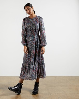 Ted Baker Lantern Midi Dress