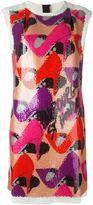 Lanvin sequin embellished dress - women - Silk/Cotton/Linen/Flax/Polyester - 48