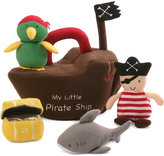 Gund Stuffed Pirate Ship Toy Set