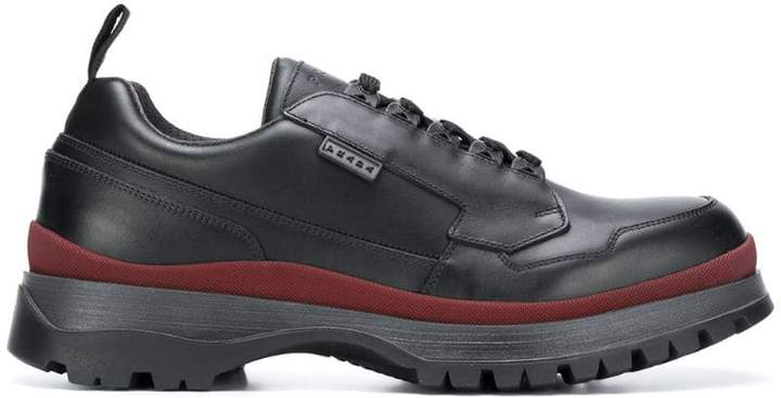 Prada chunky sole low top sneakers