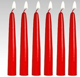 "Candle4Less 6"" Taper candles (set of 12)"