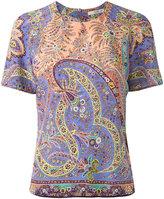 Etro paisley print T-shirt - women - Silk - 40