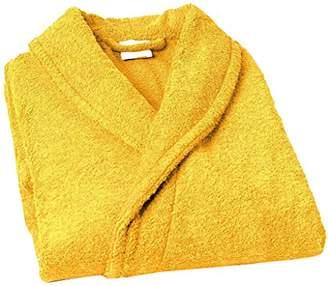 Home Basic Kids – Hooded children bathrobe, size 2 years, color Gold