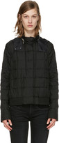 Moncler Gamme Rouge Black Down Quilted Duchess Jacket