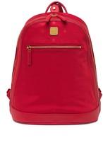 MCM Large Nylon Logo Backpack