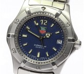 Tag Heuer Diving Watch WK1213 Stainless Steel 34mm Mens Watch