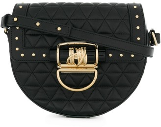 Balmain Studded Quilted Shoulder Bag