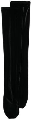 Simone Wild Knee-Length Velvet Socks