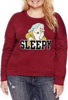 Freeze Long Sleeve Sweatshirt-Juniors Plus