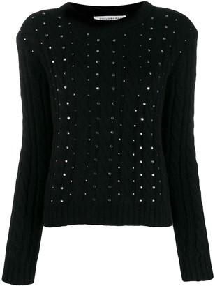 Philosophy di Lorenzo Serafini crystal embellished jumper