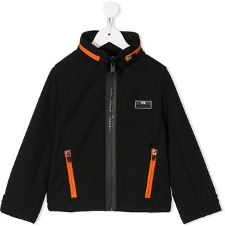 Paul Smith Contrast Zip Up Jacket