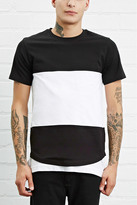 Forever 21 Contrast-Paneled Tee