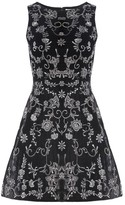 Alice + Olivia Lindsey Structured Pouf Dress