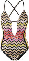 Missoni Mare cut out swimsuit