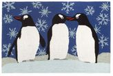 Liora Manné Trans Ocean Imports Frontporch Penguins Indoor Outdoor Rug