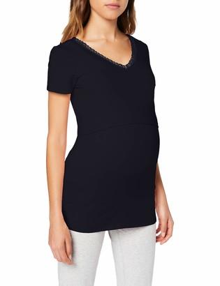 Noppies Women's Nurs Floor Solid Maternity Pyjama Top