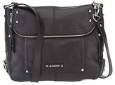 B. Makowsky As Is Epona Pebble Leather Messenger Bag