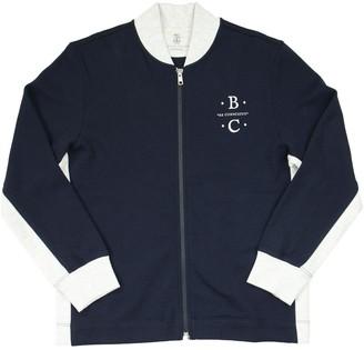 Brunello Cucinelli Cotton Cardigan With Badge