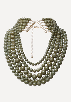 Bebe Beaded Layer Necklace