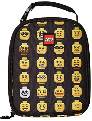 Lego Minifigure Lunch Bag (Black) Duffel Bags