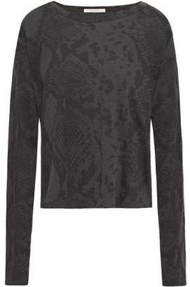 Rag & Bone Snake-print Supima Cotton-jersey T-shirt