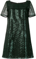 Goat square-neck sequin dress