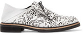 McQ by Alexander McQueen Perforted Leather Brogues