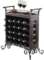 Winsome Silvano 25-Bottle Wine Rack