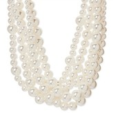 SUGARFIX by BaubleBar Multi Strand Pearl Choker Necklace - Pearl