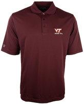 Antigua Men's Virginia Tech Hokies Pique Extra-Lite Polo Shirt